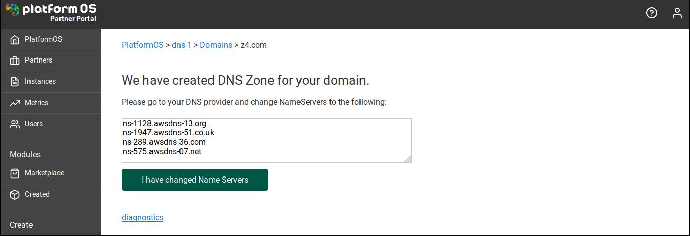 Reparking NameServers
