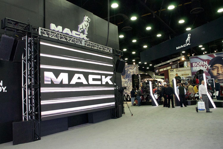 Mack Truck Trade Show