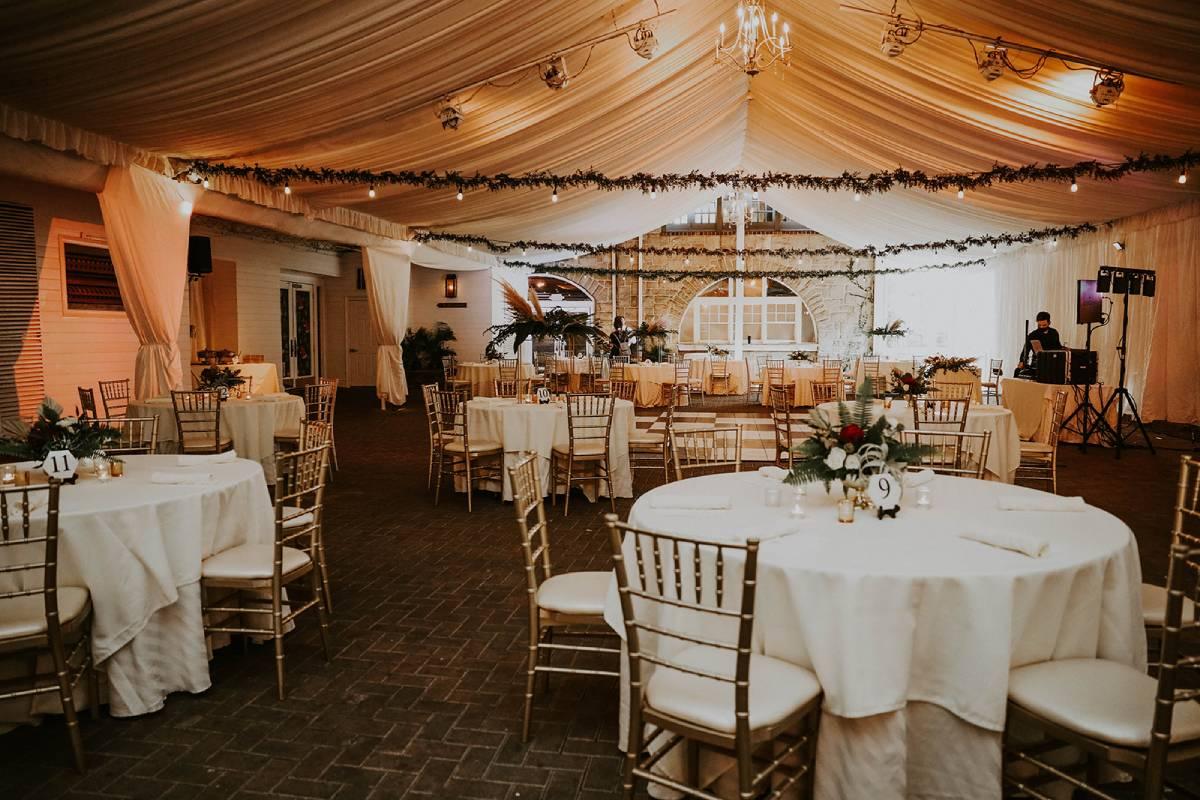 piedmont garden tent wedding venue  in atlanta