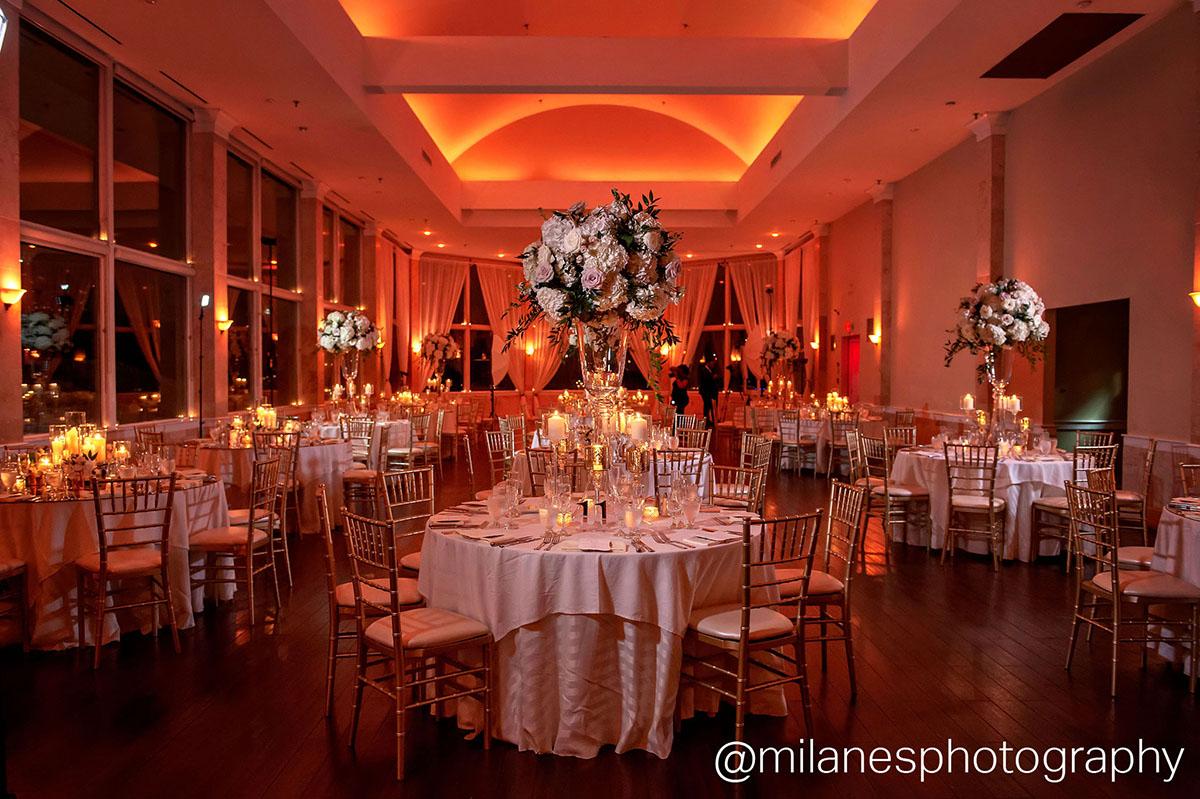 beautiful wedding reception at Atlanta