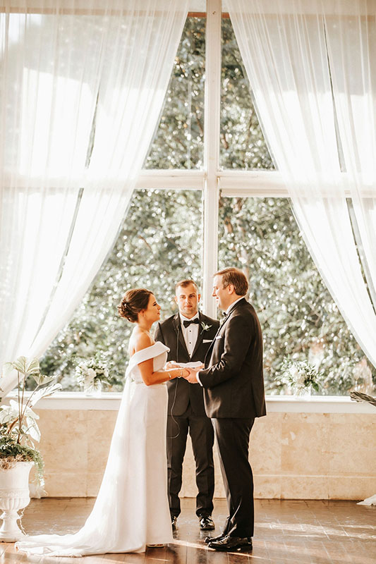 bride groom at Piedmont Room