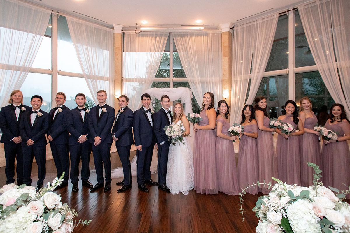 bride groom groomsmen bridesmaid Atlanta