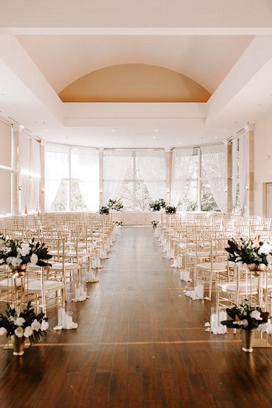 wedding venue piedmont room