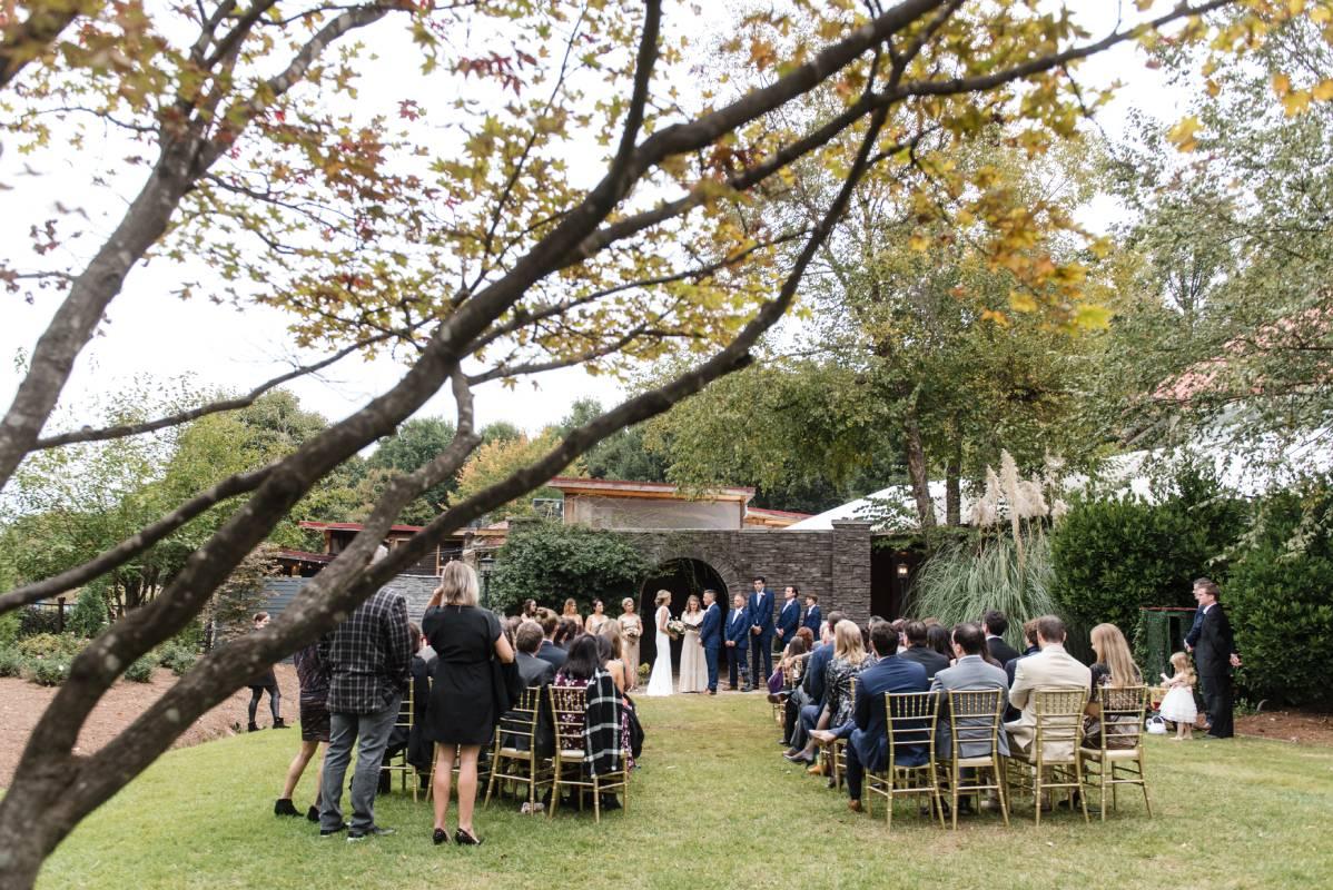 wedding near park tavern