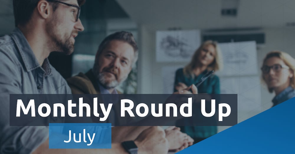 The Monthly Round Up - July