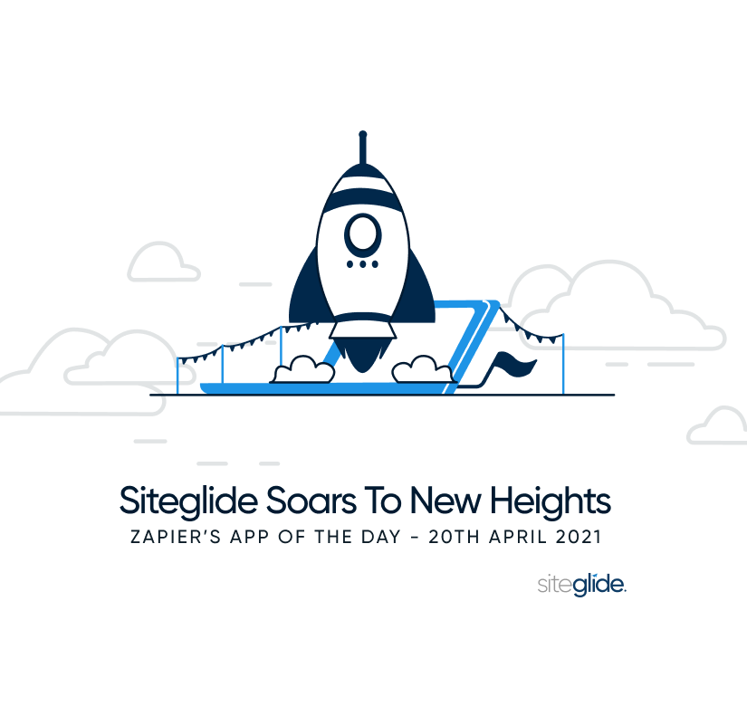 SIteglide Soars To New Heights - Main Blog Image
