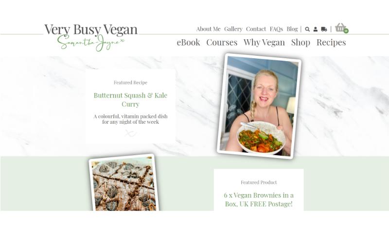 Very Busy Vegan
