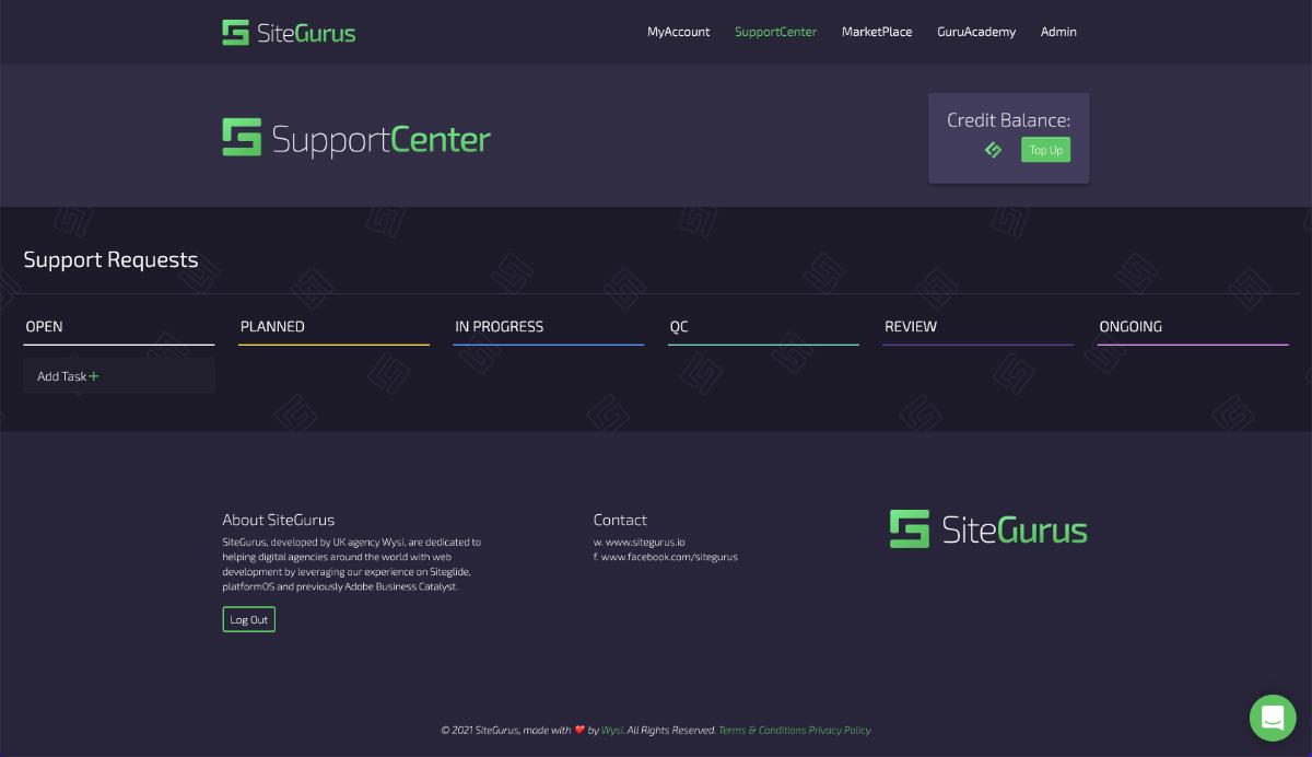 SiteGurus Interesting Custom API Work