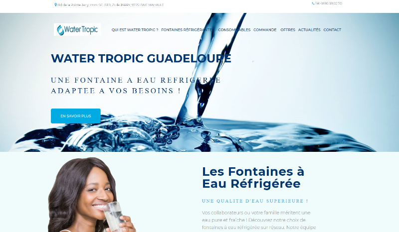 Water Tropic Guadeloupe (.fr)