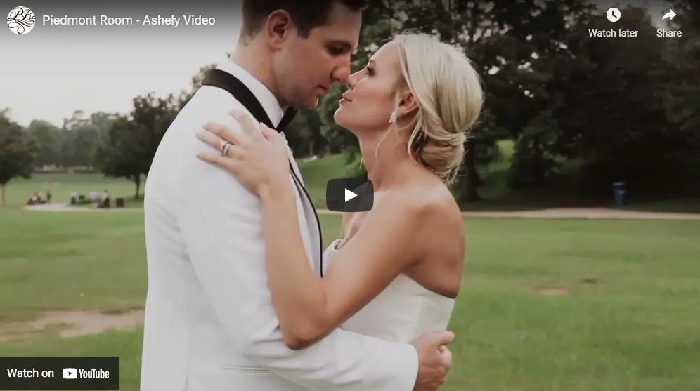 Ashley's Wedding - Piedmont Room Wedding | Atlanta Outdoor Wedding Venues