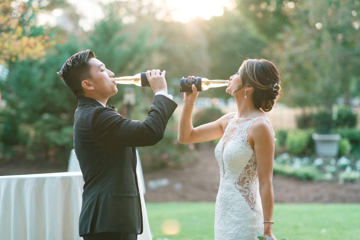 wedding in piedmont park