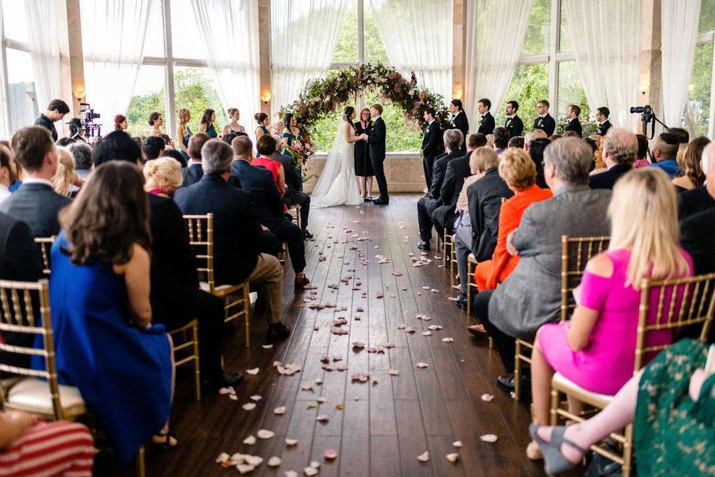 wedding reception in Piedmont Room