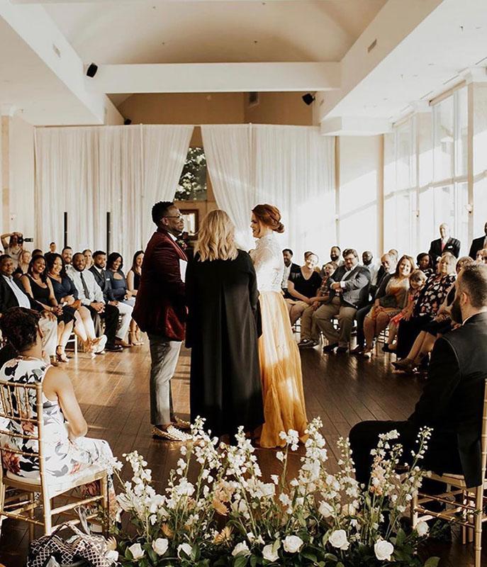 wedding reception in Atlanta