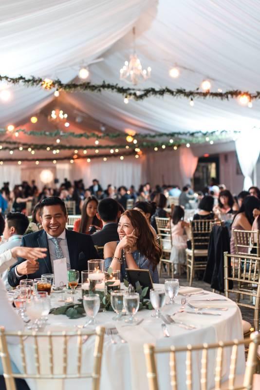 piedmont garden tent wedding venue diana andrew