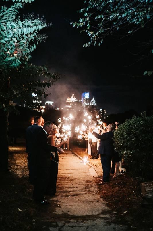 midtown outdoor wedding venue in atlanta