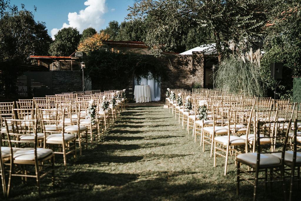 outdoor wedding at piedmont park