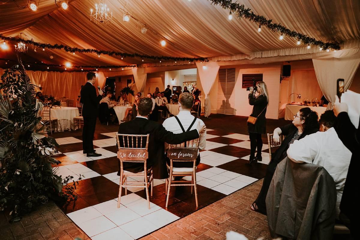 outdoor wedding venue at park tavern