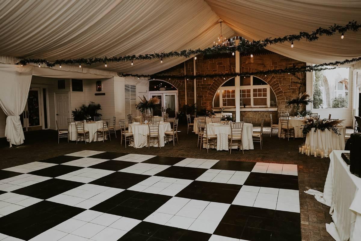 outdoor venue piedmont garden tent