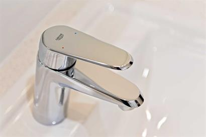 Grohe basin mixer tap in chrome