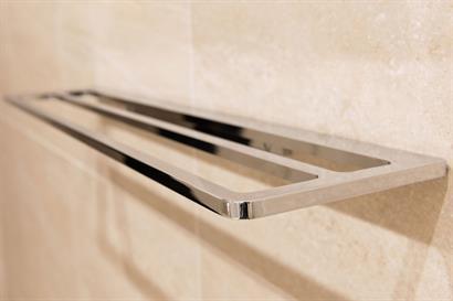 Milli Glance 750mm Double Towel Rail, Chrome