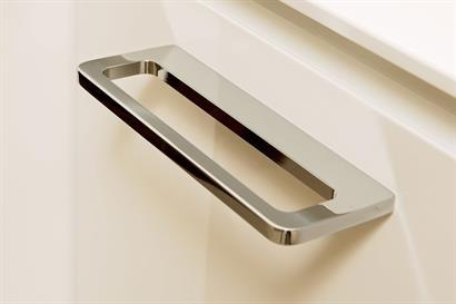 Milli: Glance 240mm Towel Rail, Chrome