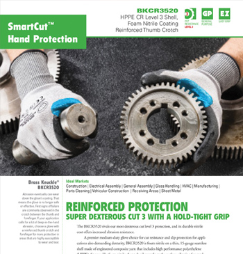 SmartCut Hand Protection