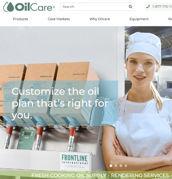 OilCare website