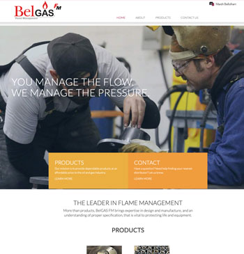 BelGAS website