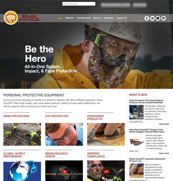 Brass Knuckle website