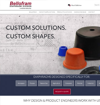 Bellofram Diaphragm Website