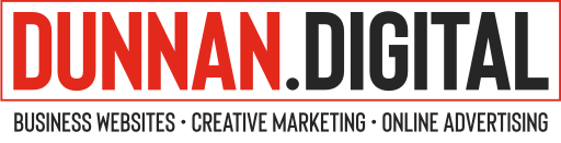Logo for Dunnan.Digital with tagline Business Websites, Creative Marketing and Online Advertising