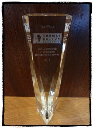 2011 leadership award