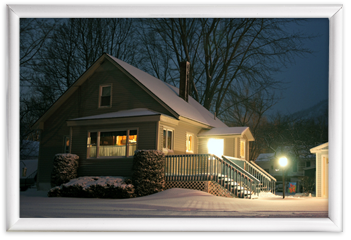 Home Motion Sensors & Strategic Lighting Image