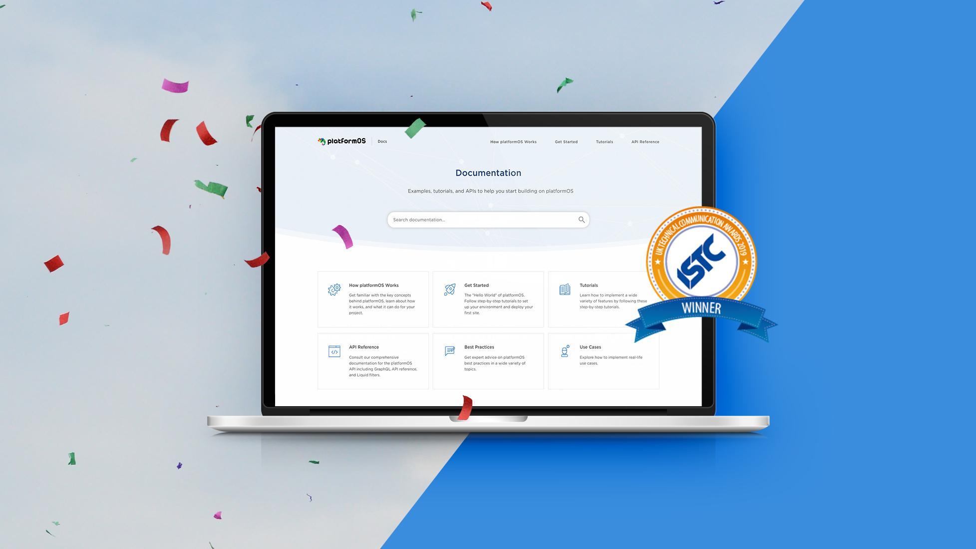 platformOS Developer Portal Wins UK Technical Communication Award