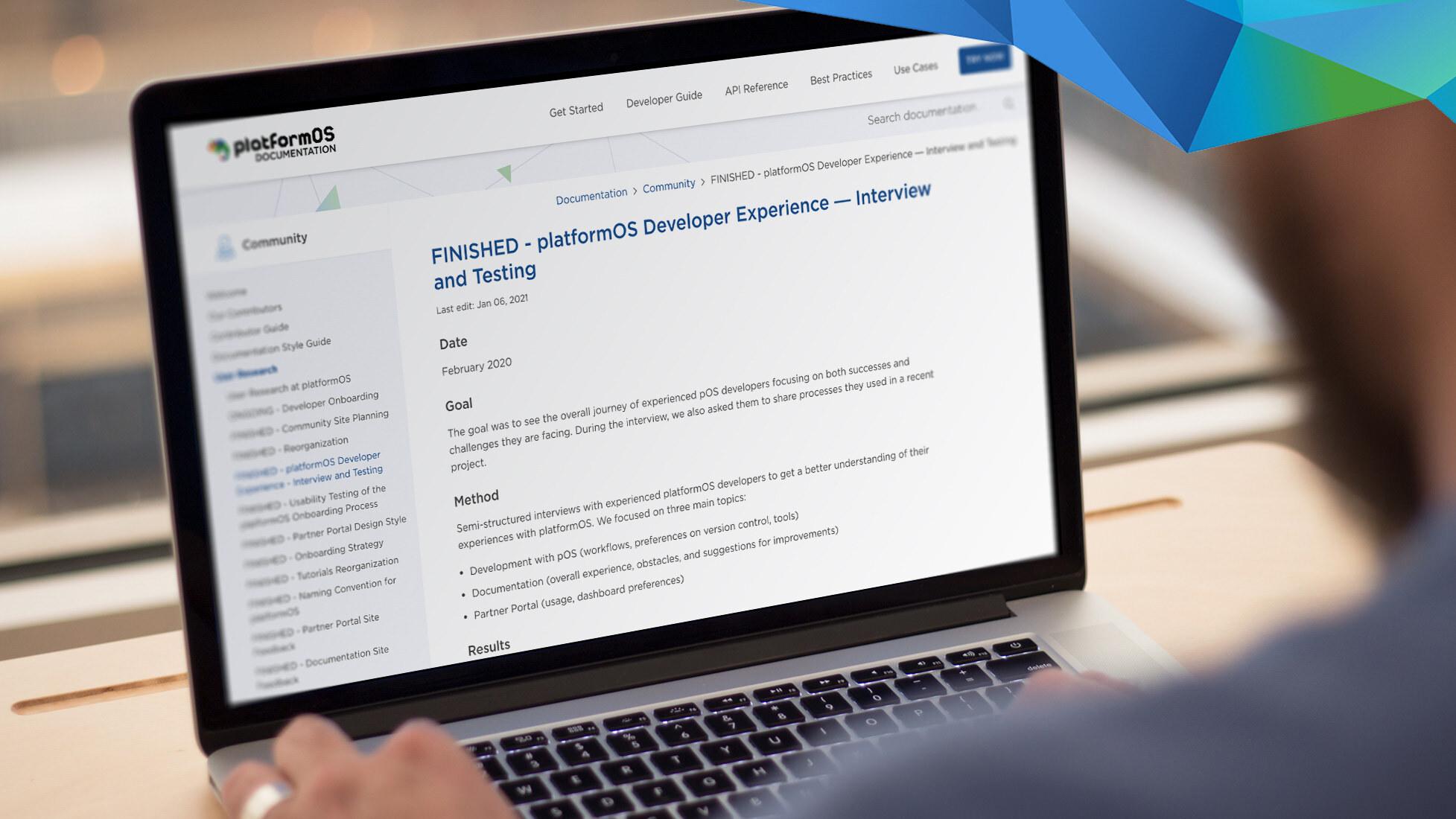 platformOS Status Report — Jan 11, 2021