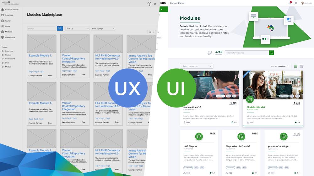 The platformOS UX/UI Process