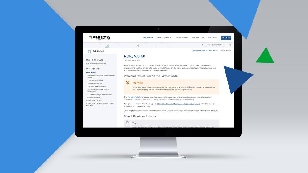 platformOS Status Report — Feb 1, 2021