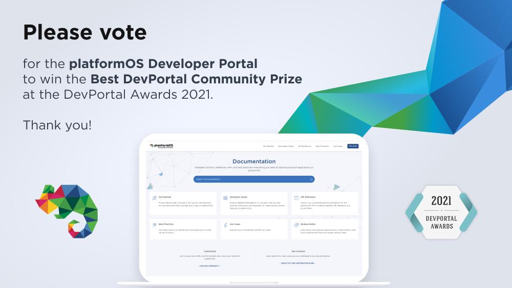 platformOS Status Report — September 6, 2021