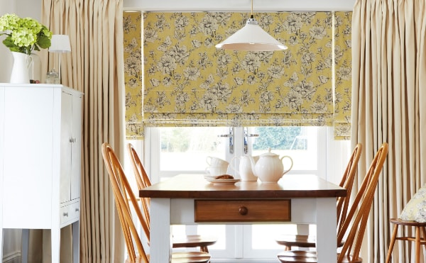 Motorised Roman Blinds