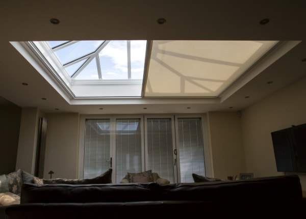 Motorised Skylight Blinds