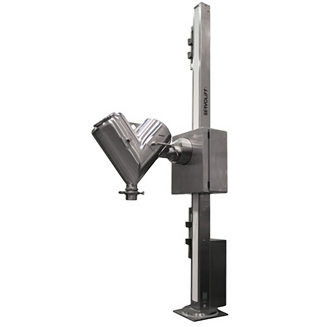 Cantilevered V Lift Blender