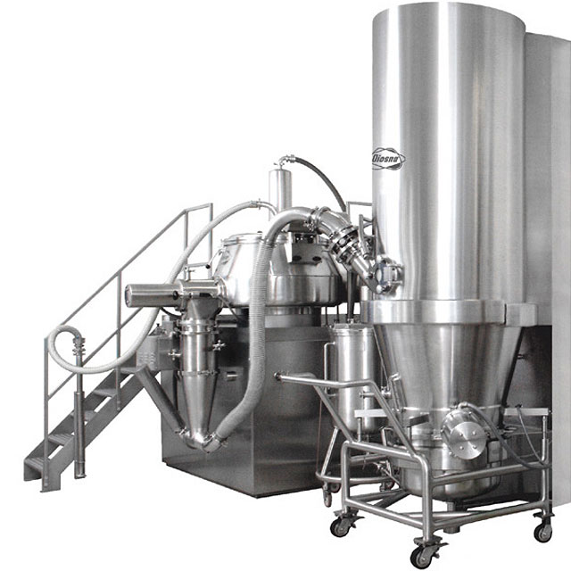 Closed Combined Granulation System 150 - 1300