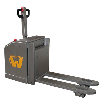Stainless Pallet Jack - Battery Powered