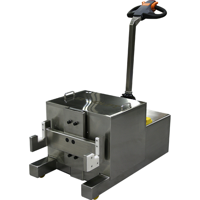 Tugger / Mover for Bins and Tanks