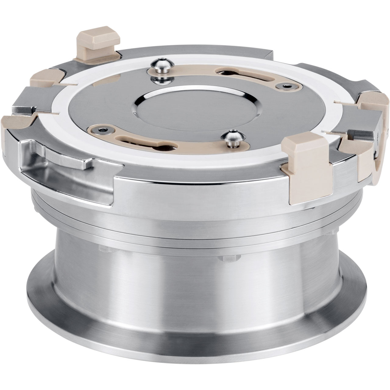 Single-use Compatible, Passive Containment Valve - Stainless Steel