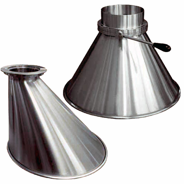 Drum Funnels and Hoppers