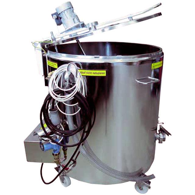 Pasteurizing Vessels