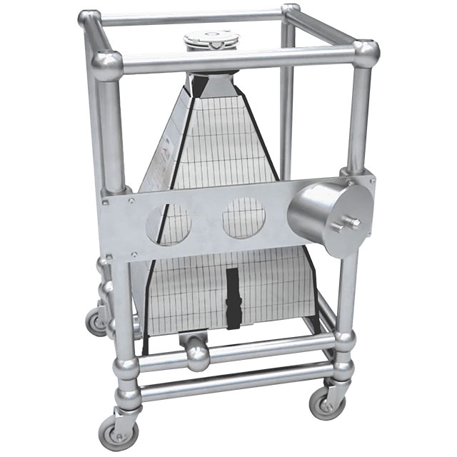Poplet Image 2 for FIBC Bin Blending Frame for Single-use Containment Systems