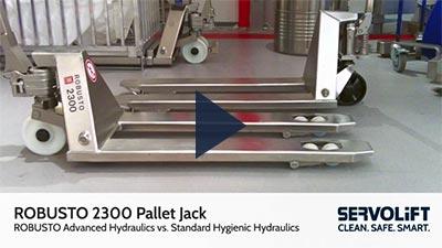 ROBUSTO 2300 Advanced Hygienic Hydraulics