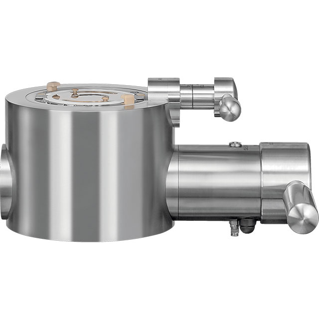 Side view of APORT process valve